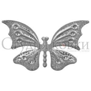 Бабочка штамп